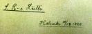 Ote ST ry:n tilikirjasta 1920- ja 1930-luvuilta (1)